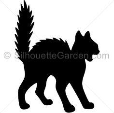 236x234 8 Easy Halloween Decor Ideas Black Cat Silhouette, Cat