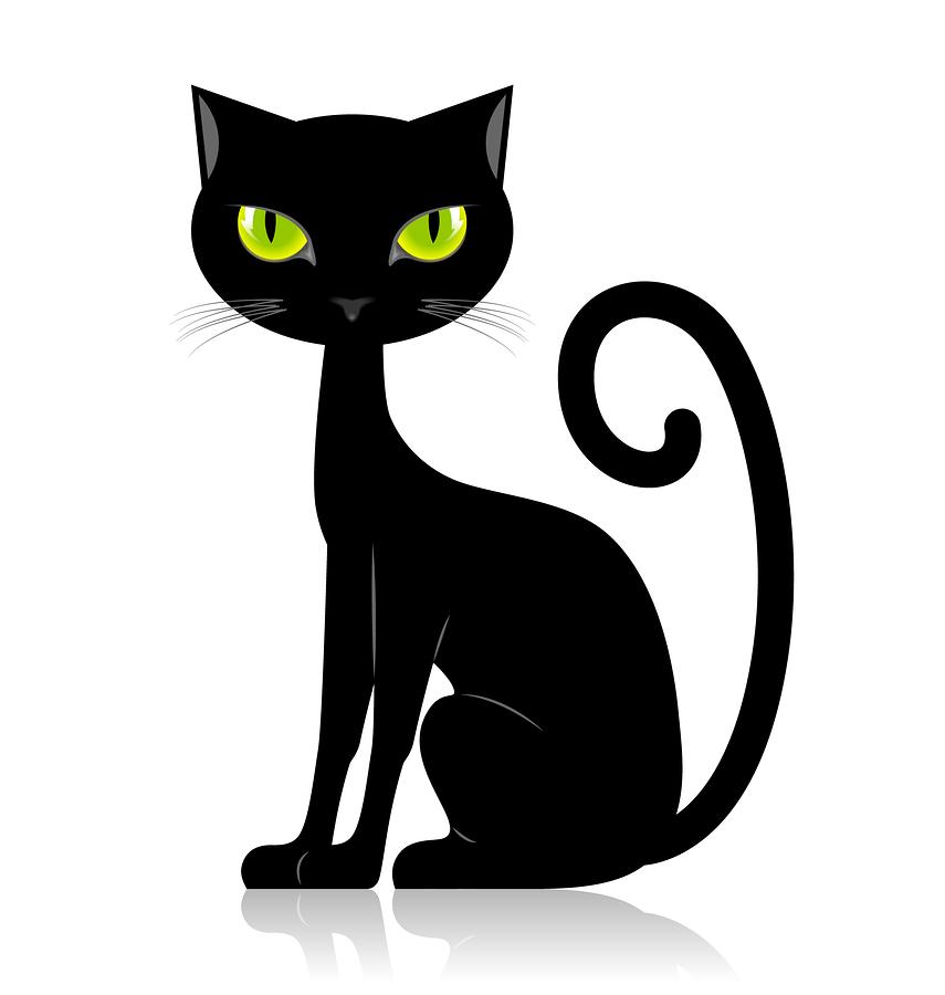 855x900 Best Cat Clipart Black Cat Silhouette