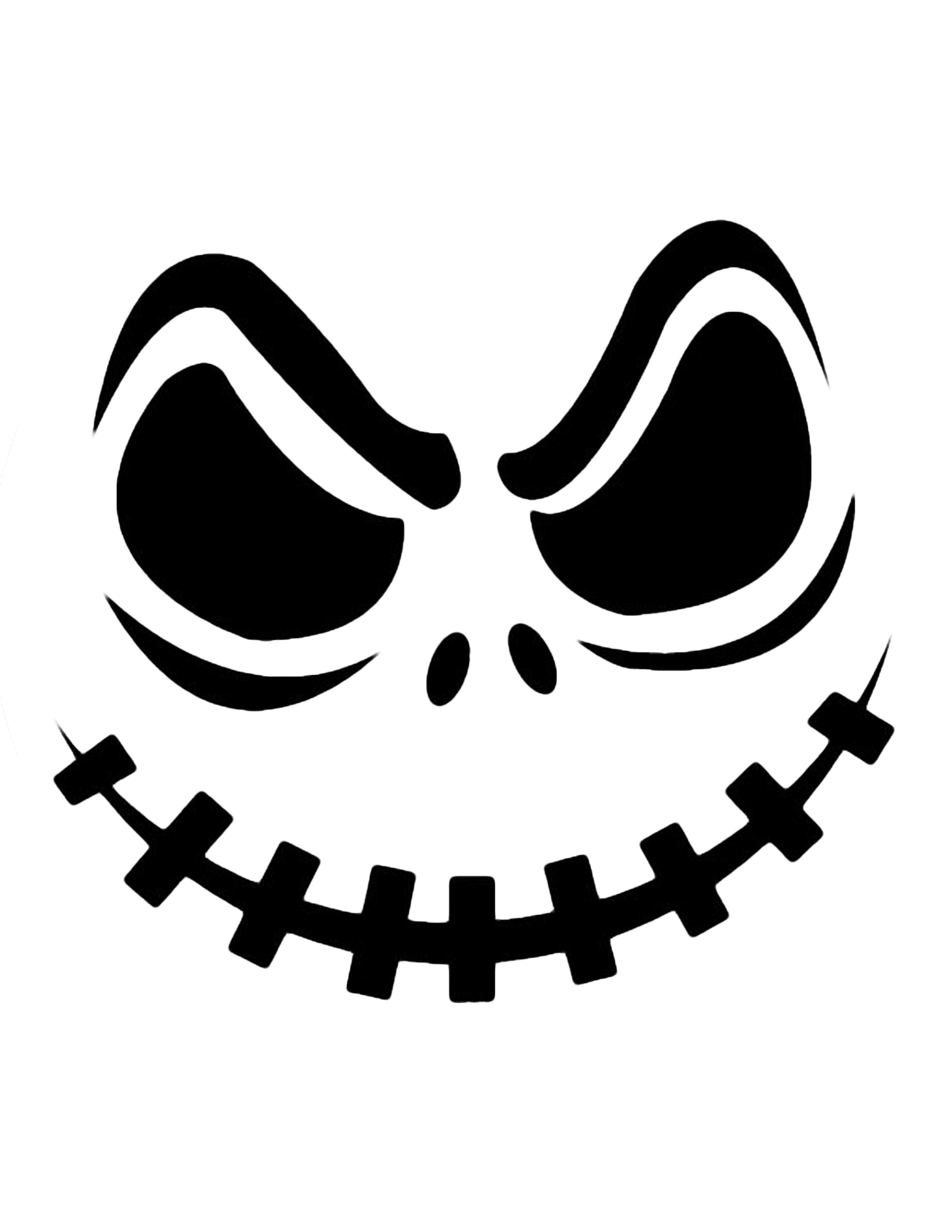 2550x3300 Halloween Black And White Interesting Halloween Pumpkin Carving