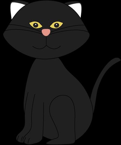 400x476 Bat Clipart Halloween Black Cat