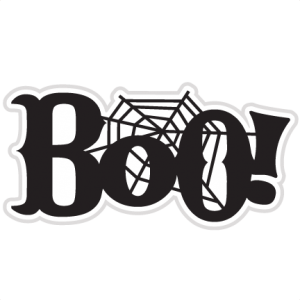 300x300 Boo! Svg Scrapbook Title Ghost Svg File Halloween Svg Cut File