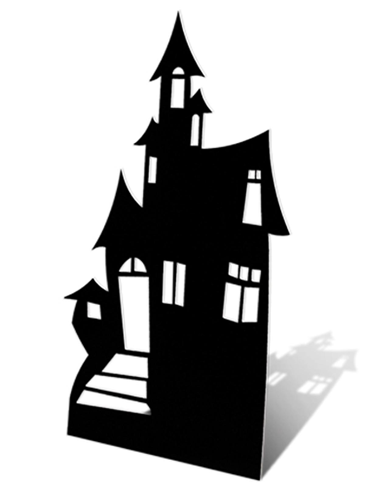 1200x1600 Haunted House Cardboard Cutout (Small)