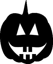 214x257 Pumpkin Silhouette Silhouette Of Pumpkin