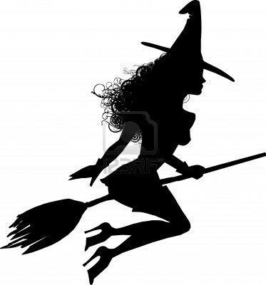 373x400 Tarjetero Witches, Silhouettes And Cricut