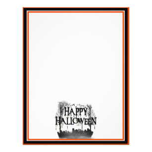 307x307 Halloween Graveyard Silhouette Gifts On Zazzle