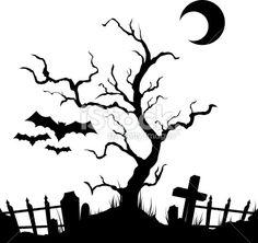236x222 Halloween Silhouette Scene Free Svg Files Silhouette Cameo