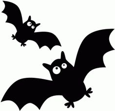 236x228 Halloween Bats Silhouettes