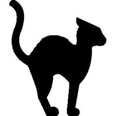 236x236 8 Easy Halloween Decor Ideas Black Cat Silhouette, Cat