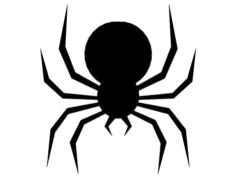 500x368 Halloween Spider Silhouettes Halloween Halloween