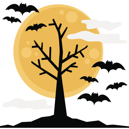 432x432 Halloween Tree Svg Cutting Files Halloween Svg Cuts Free Svg Files