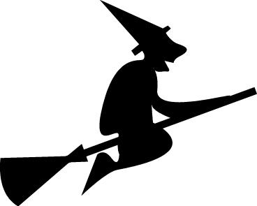 368x295 Witch Silhouette Clipart Kid