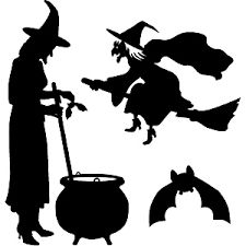 225x225 Dancing Clipart Witch Silhouette