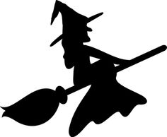 236x194 Free Witch On A Broom Black And White Pagan Holidays