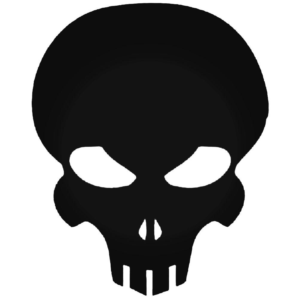 1000x1000 Extermination Skull Logo Vinyl Decal Sticker