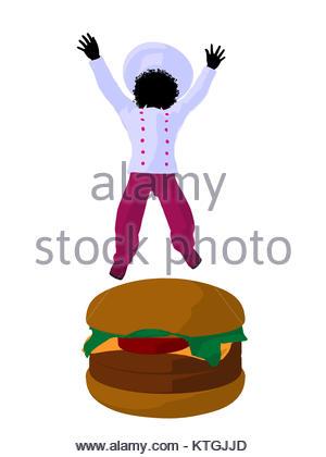 Hamburger Silhouette