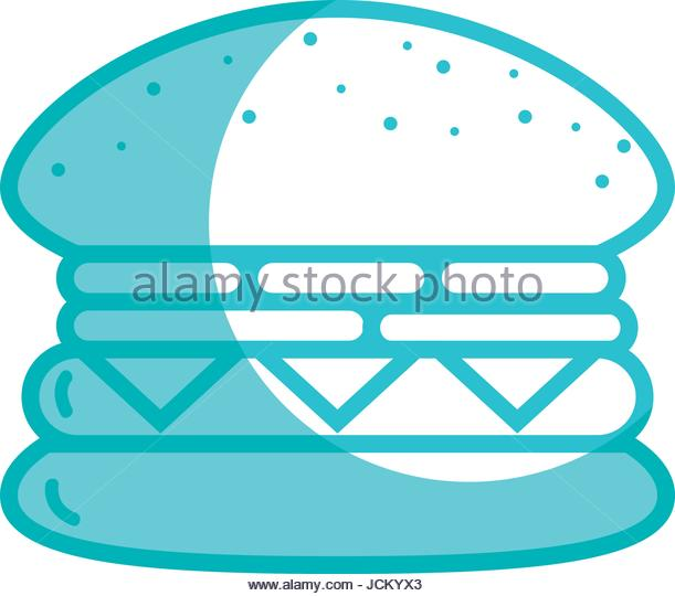 611x540 Silhouette Fast Food Hamburger Meal Stock Photos Amp Silhouette Fast