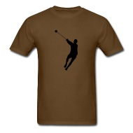 190x190 Hammer Throwing Silhouette (Hammer Throw) By Azza1070 Spreadshirt