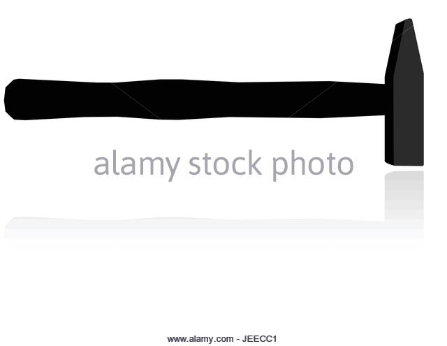 640x495 Hammer Silhouette Stock Photos Amp Hammer Silhouette Stock Images