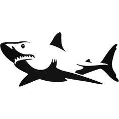 236x236 Hammerhead Shark Silhouette Ver Vinyl Decal Sticker Hammerhead