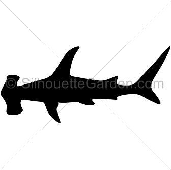 336x334 Resultado De Imagen De Hammerhead Shark Silhouette Shark2