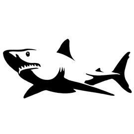 270x270 Shark Stencil Stencils Shark, Stenciling And Cricut