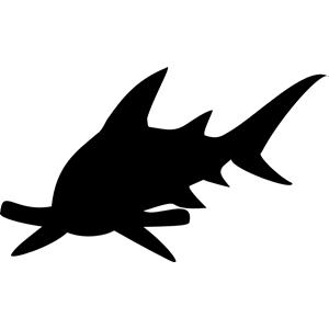 300x300 Hammerhead Shark Clipart, Cliparts Of Hammerhead Shark Free