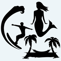 240x240 Mermaid Silhouette Photos, Royalty Free Images, Graphics, Vectors