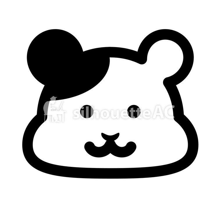 750x750 Silhouettes Gratuites Animal, Visage, Hamster, Animal, Une Souris