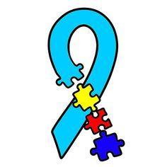 236x236 Autism Awareness Mouse Ears Svg, Studio, Eps, And Jpeg Digital