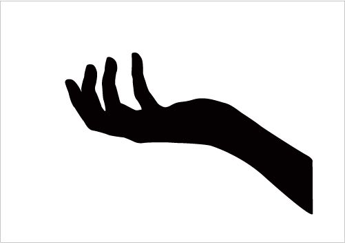 501x352 Photos Hand Silhouette Images,