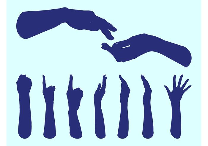 700x490 Hands Silhouettes Graphics