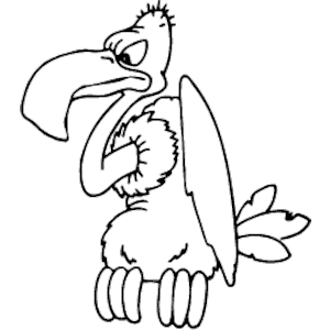 300x300 Vector Silhouette Vulture Free Free Vector For Free Download About