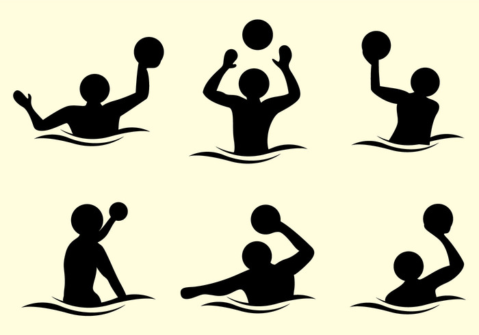 700x490 Water Polo Silhouette Vector Free Vectors Ui Download