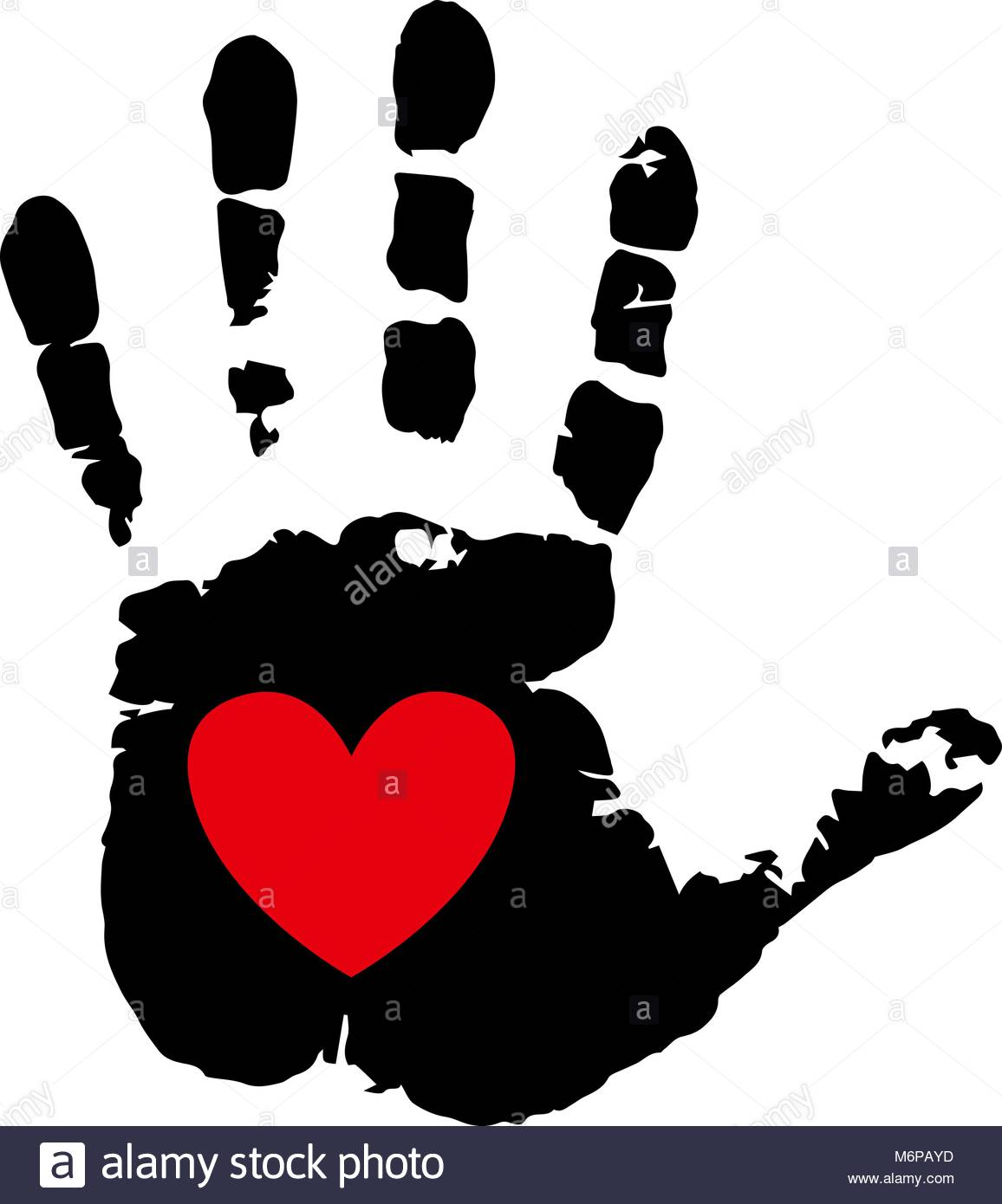 1156x1390 Handprint With Heart Stock Photos Amp Handprint With Heart Stock