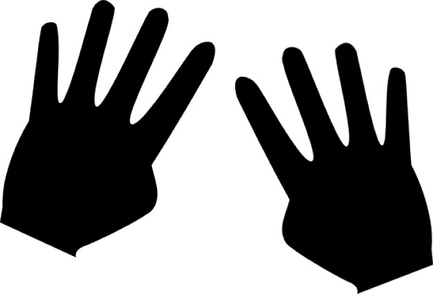 626x425 Hands Silhouette Thumbless Icons Free Download