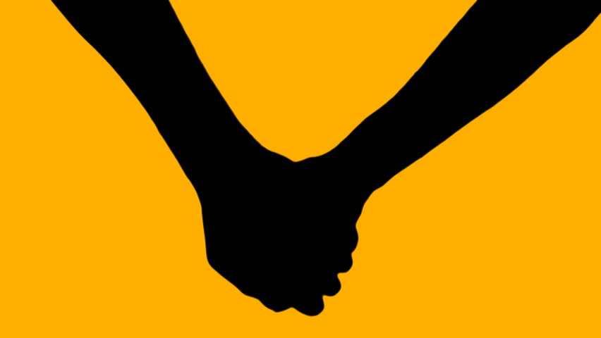 852x480 Silhouette Clipart Holding Hand