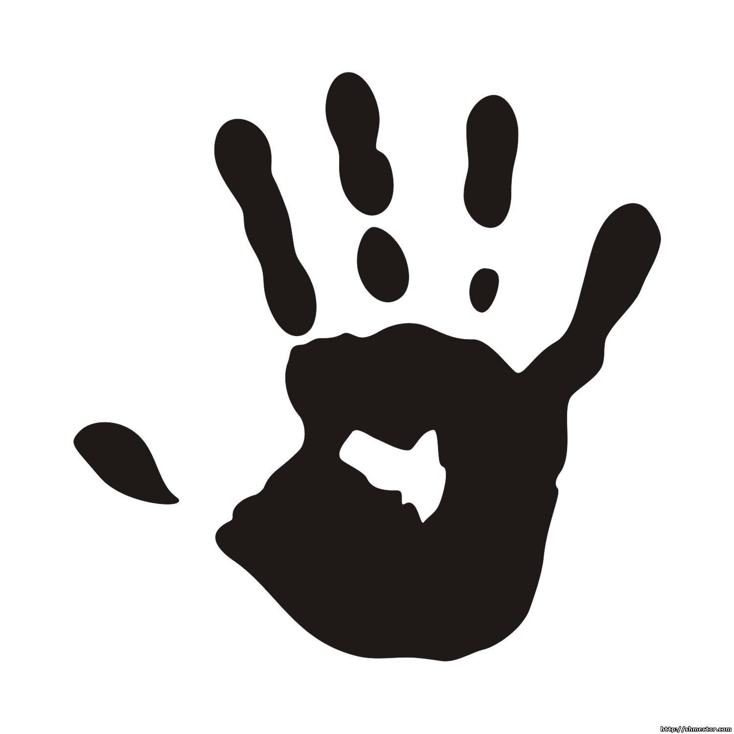hands silhouette vector at getdrawings com free for personal use rh getdrawings com vector hands free download vector handshake icon
