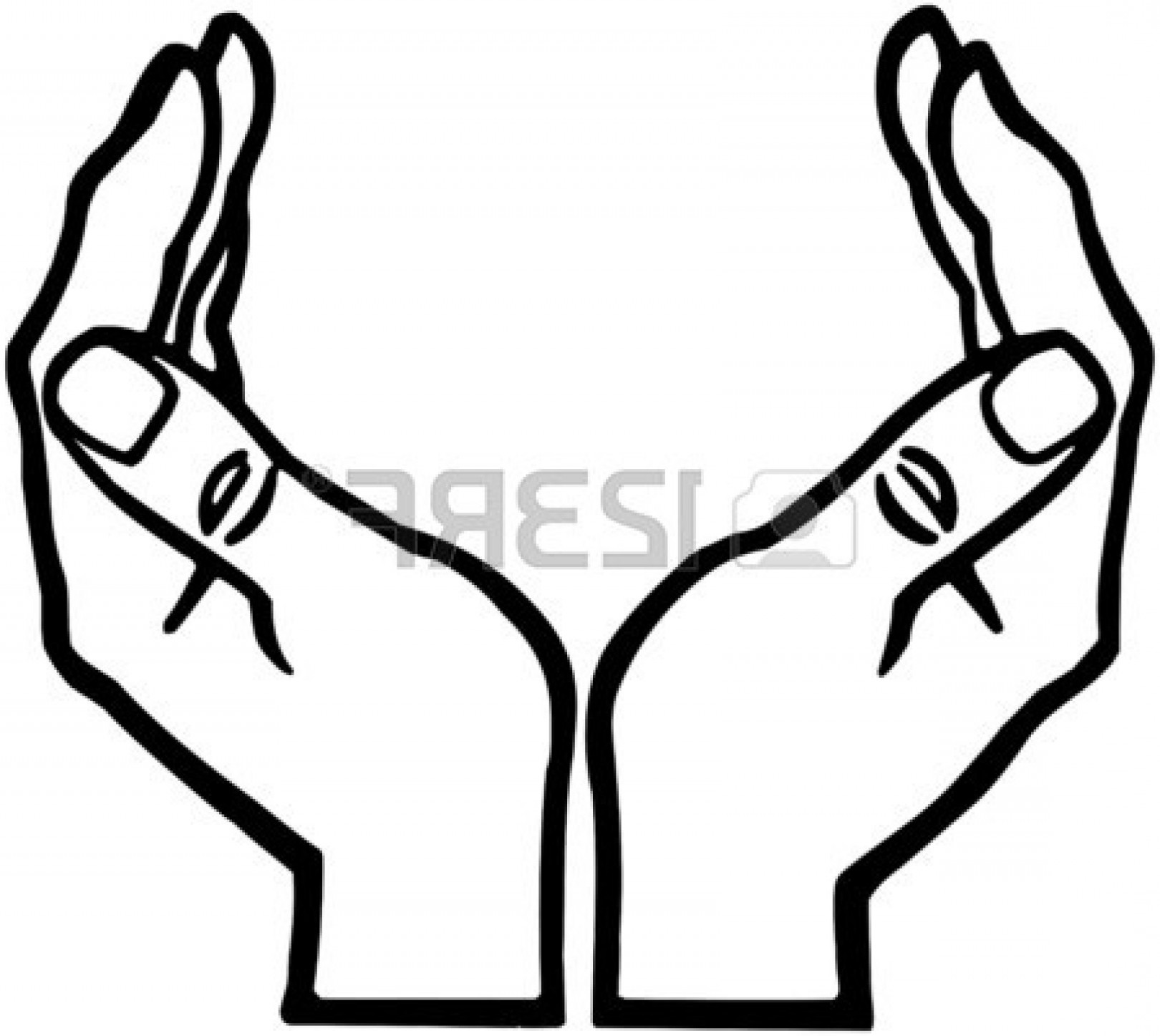 1620x1447 Hands Silhouette Clipart