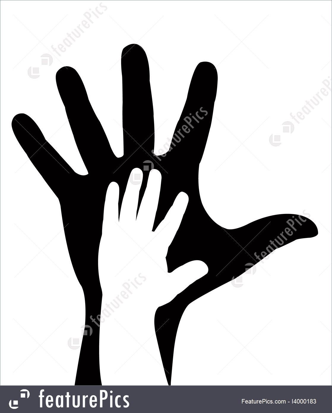 1118x1392 Hands Silhouette Vector