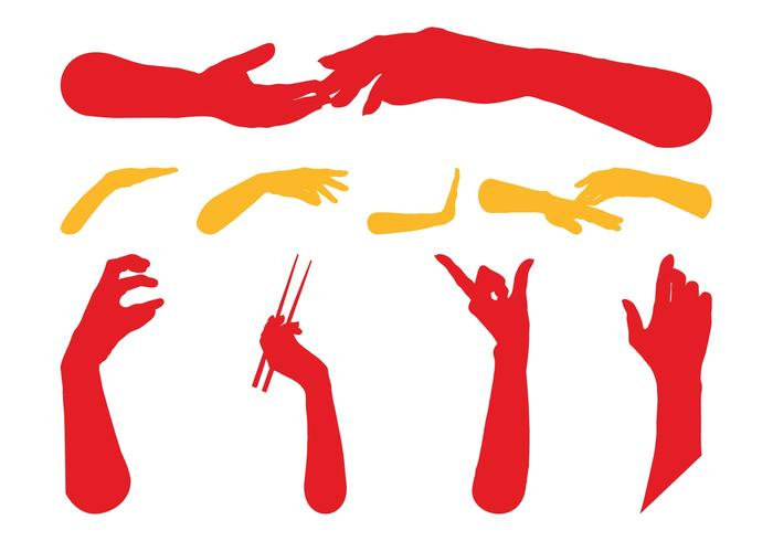 700x490 Hands Silhouettes Free Graphics