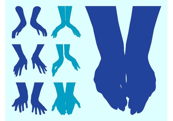 700x490 Open Hands Silhouettes