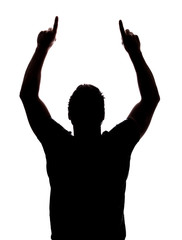 182x240 Search Photos Hands Up Silhouette