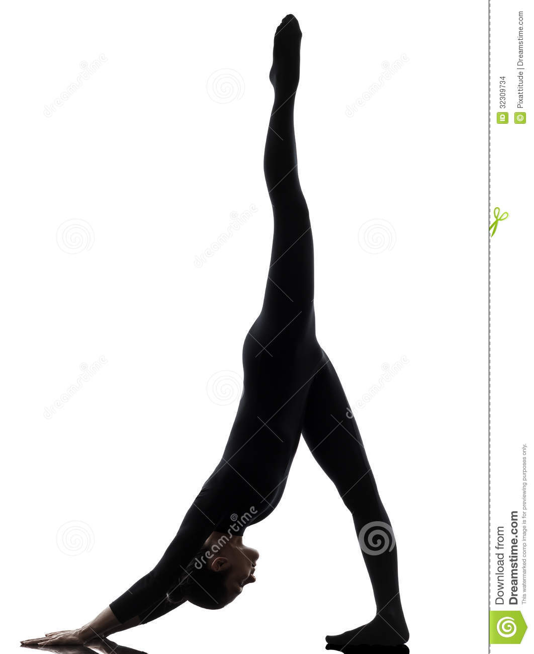 1062x1300 Gymnastics Handstand Silhouette Clipart