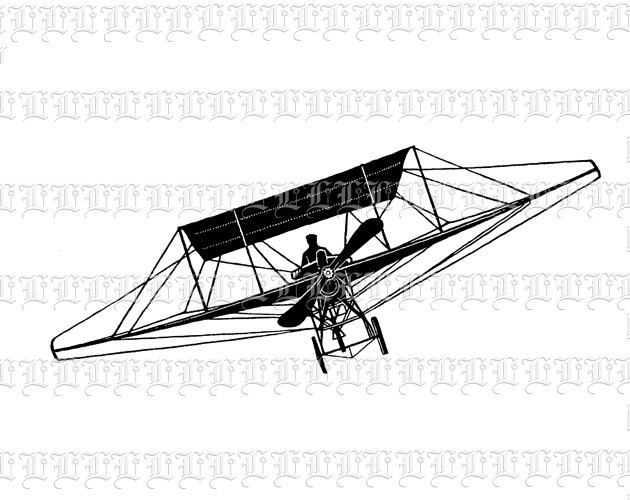 Hang Glider Silhouette