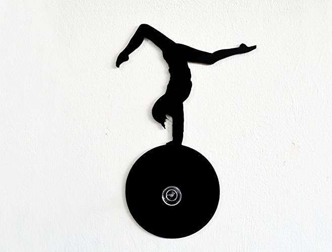 658x500 Gymnastics Sport Silhouette Wall Hook Coat Hook