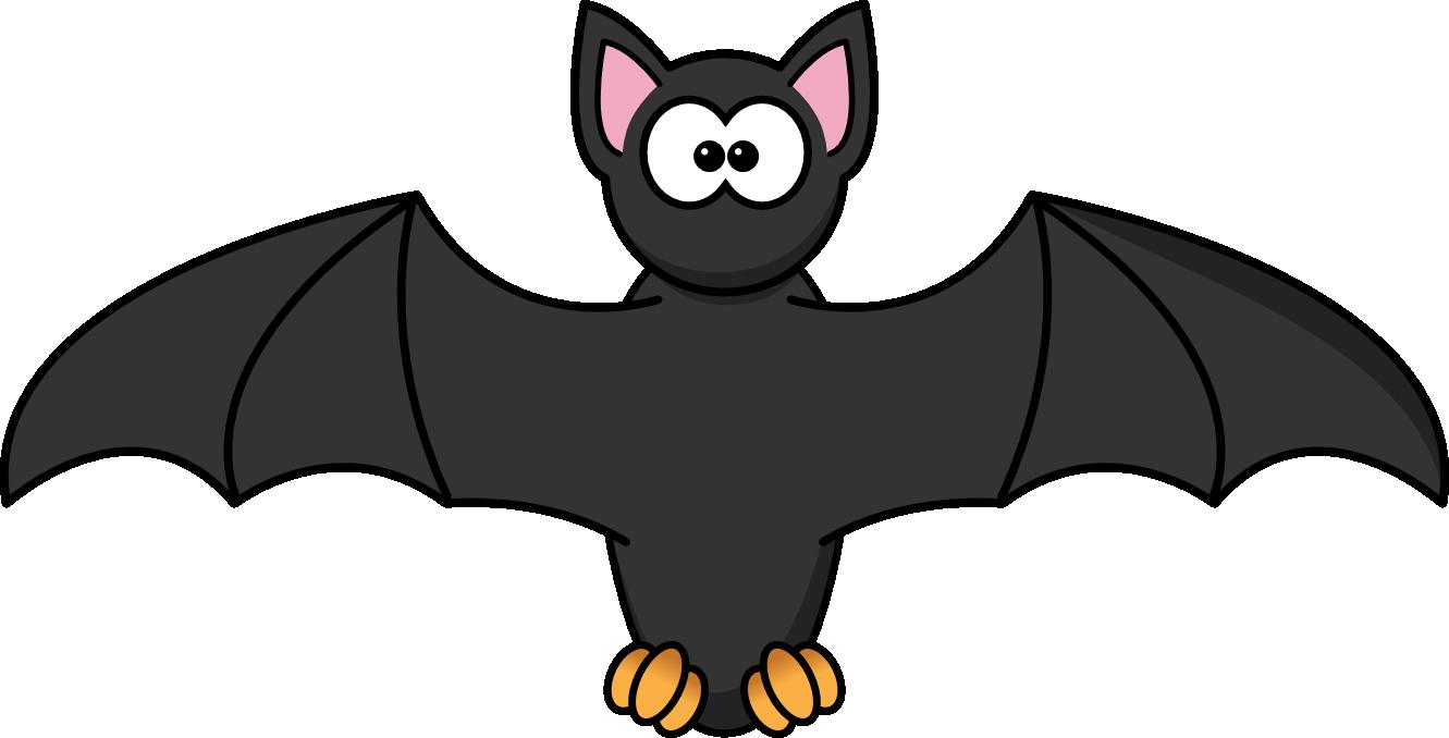 Hanging Bat Silhouette
