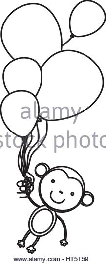 217x540 Monkey Cartoon Hanging Stock Photos Amp Monkey Cartoon Hanging Stock