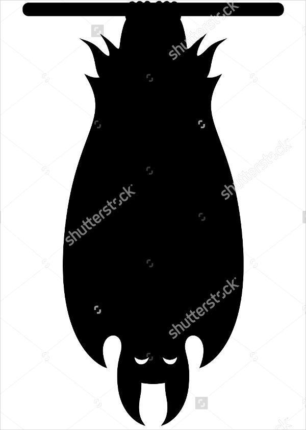 600x842 Bat Silhouettes
