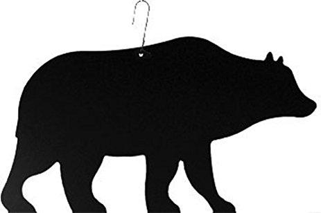 463x308 Iron Bear Christmas Decoration Hanging Silhouette