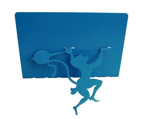 480x395 Hanuman Bookshelf (Wallmount) Blue Lovethisstuff